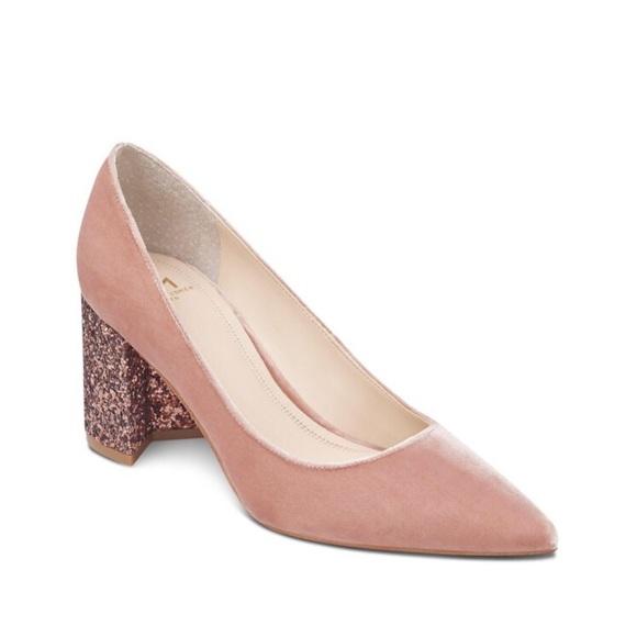 14b587a8303b ... Velvet Glitter Block Heels. M 5bf4882d819e90e02cfe854f. Other Shoes ...